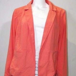 NWT Eloquii Salmon Soft Blazer / Jacket - 14W / XL